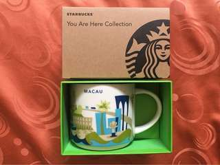 Starbucks Hongkong You Are Here Mug MACAU