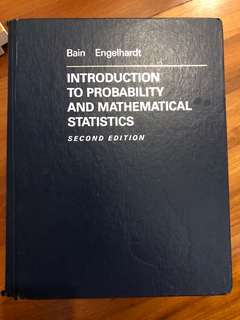 Actuarial science - intro to probability and mathematical statistics
