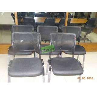 VC 3028 visitors chairs office furniture partition