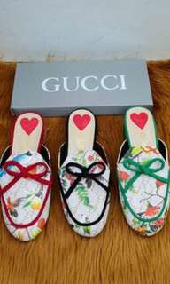 Gucci Bird loafers