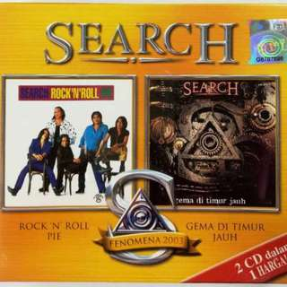 SEARCH Rock n Roll Pie + Gema Di Timur Jauh 2CD Box Set