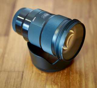 Sigma 50mm f1.4 ART Sony Emount version.