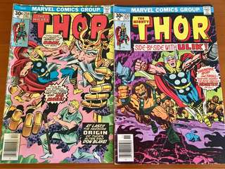 Thor #253 &254 (origin of Dr Blake, Thor's alter ego)