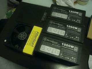 1200W ST1200-PT 80 PLUS白金全模組電源智能無風扇模式