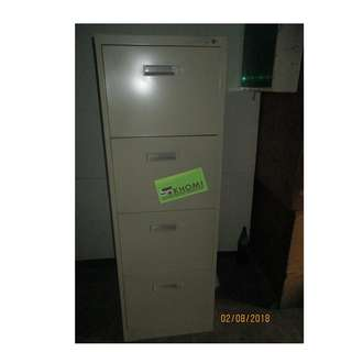 VERTICAL CABINET (Flush Handle) office furniture partition