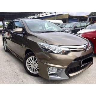 2015 Toyota VIOS 1.5 G (A) FUL SVC RECORD TRD KITS