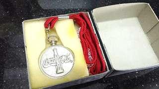 (全新)-[懷錶]Coca-Cola 可口可樂1999紀念懷錶