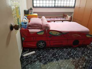 Kid pull out bed.