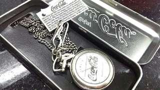 (全新)-[懷錶]Coca-Cola 仿古可口可樂紀念懷錶