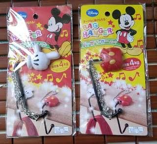 迪士尼掛鈎 出街食飯掛枱鈎  disney mickey hanger 米尼老鼠, 2件$30
