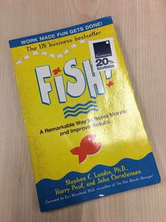 Fish - Business Book to Boost Morale and Improve Result