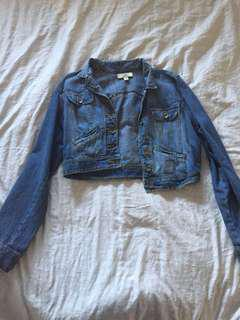 Price drop!!!Short jean jacket