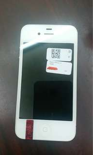 iPhone 4 16 gb black and white
