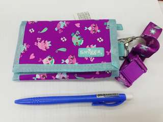 Smiggle wallet with lanyard Rm39 NEW
