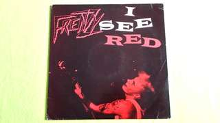 FRENZY . i see red . ( NEW ZEALAND BAND )      vinyl record