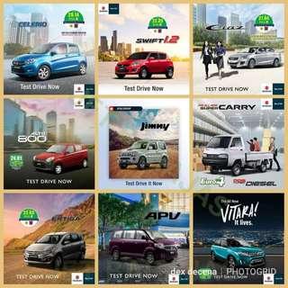 New Suzuki Car 2018 Alto Celerio Ciaz Ertiga Apv Vitara Jimny suoer carry