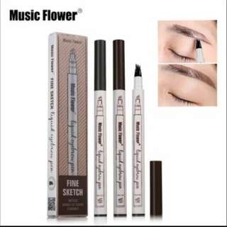 Authentic Music Flower 24 hours Smudge Proof eyebrow pen