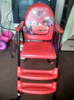 Disney Pixar Cars Foldable Chair
