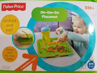 Fisher Price On The Go Placemat