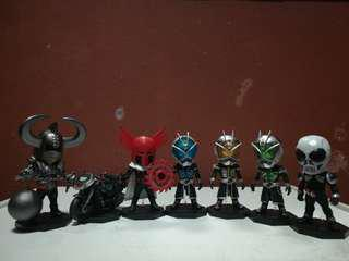 WCF Kamen Rider, 7Item set