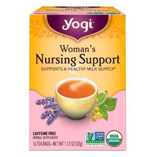 Yogi Tea, Woman's Nursing Support, Caffeine Free, 16 Tea Bags, 1.12 oz (32 g)