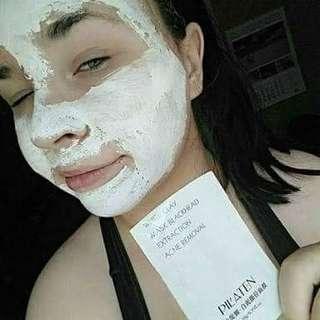 White Clay Anti-acne Blackheads  Face Mask