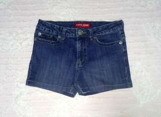 """Guess"" High-waisted Shorts"