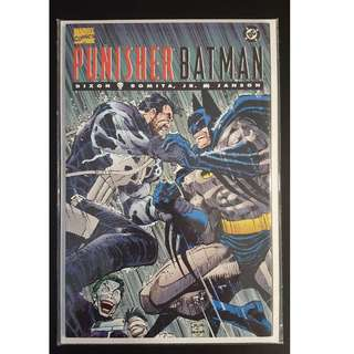 Punisher Batman #1: Deadly Knights (1994) Classic Punisher Vs Batman Battle Royale! Written by Chuck Dixon, art by John Romita Jr!