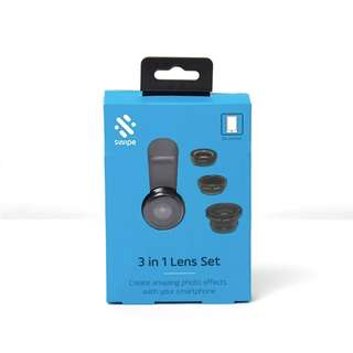 SWIPE 3 in 1 Lens Smartphone Set
