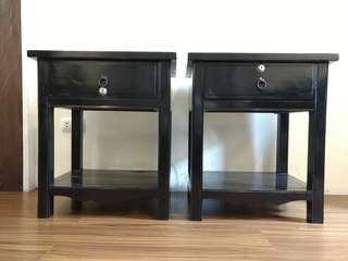 Solid Wood Side Tables / Nightstands