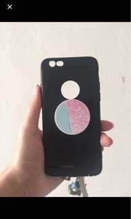 Iphone 6 case + popsocket