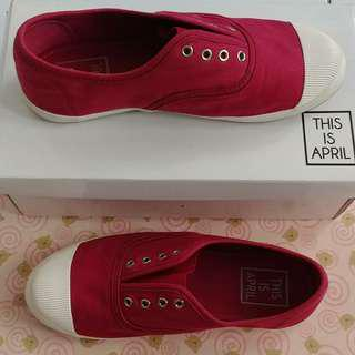 Sneaker Maroon