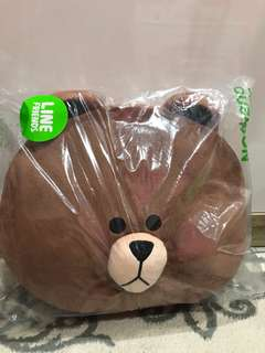 linw brown cushion doll official limited edition