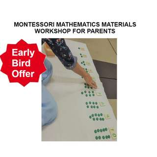 MONTESSORI MATHEMATICS MATERIALS (NUMBERS 0-20) WORKSHOP FOR PARENTS & EDUCATORS