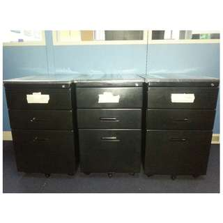 Mobile ped black - office furniture - partition