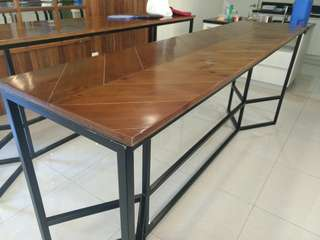 Tall Chevron Table (2)
