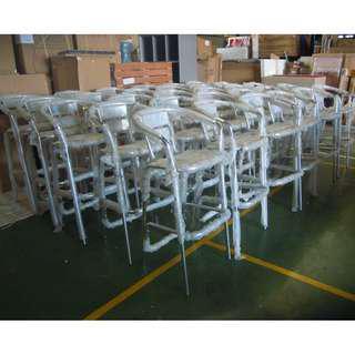 BS-WL5  Aluminum Bar chair office furniture - partition