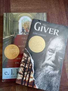 The giver & mixed up files