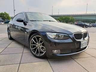 售正2008年 BMW 335cI 黑色黑內裝 運動版賽車椅 18吋全新跑胎