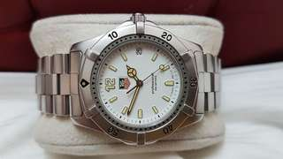 Tag Heuer Ladies classic 2000 Quartz white dial