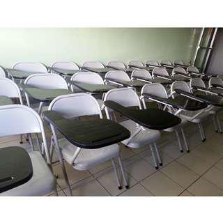 TC-847  Metal Training chair office furniture - partition