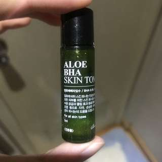 Aloe skin toner travel size