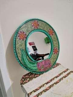 Retro mirror.