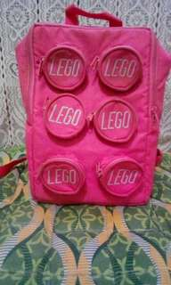 Authentic pink LEGO kids backpack REPRICED