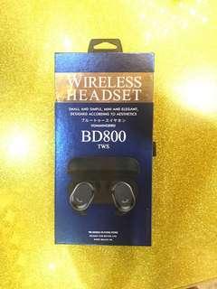 無線雙耳藍芽耳機/音質極佳