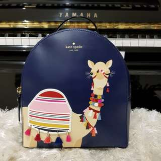 Authentic Kate Spade backpack Camel