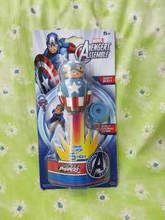 Marvel Avengets Assemble Power Poppers Captain America