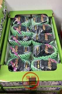 (優惠價)山梨巨峰葡萄 日本🇯🇵✈ 📦一箱10包 原箱優惠價 $1,480