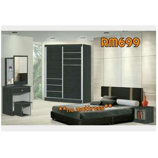 BEDROOM SET OFFER  *NOT INCLUDE MATTRESS
