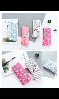 PO unicorn pencil box brand new 4 design available